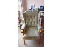 High Back/ Wing Back Chair Made by Joynson & Holland