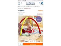 East coast discovery world 4 in 1 gym / playmat