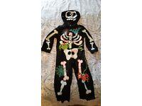 Halloween Skeleton Costume 1-2 Years
