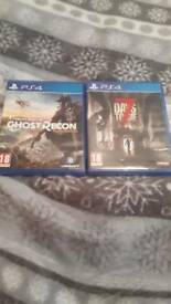Ps4 games 15 each