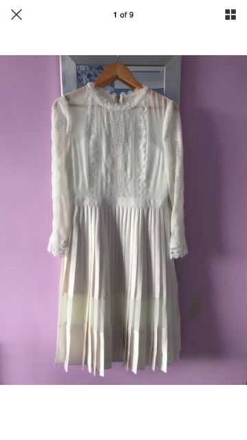 Ted Baker Ivory Midi Dress Bridal Tie The Knot Size 3 12 In Frenchay Bristol Gumtree