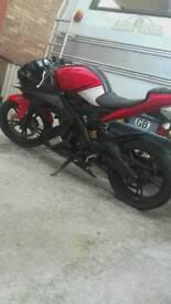 Yamaha r125. Spares or repairs