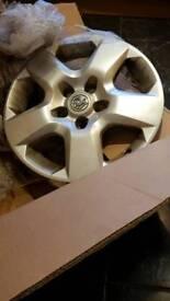 "Vauxhall wheel trim 16"""