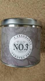 BOOTS FRAGRANCED CANDLE No3 - FIG NOIR & BLACKBERRY - BRAND NEW