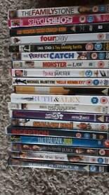 DVDs 19 job lot