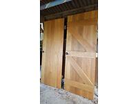 Oak hardwood doors - need to go