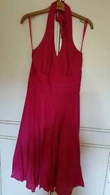 Monsoon silk dress size 12