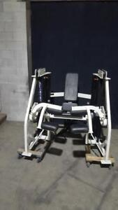Hammer Strength MTS seated leg curl