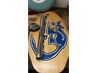 campervan surfboard table vw