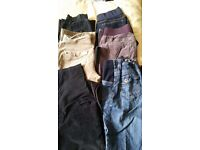 Maternity bundle meduim 12/14, 6 pairs of trousers
