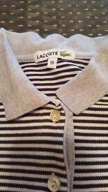 Genuine Lacoste polo shirt size 38
