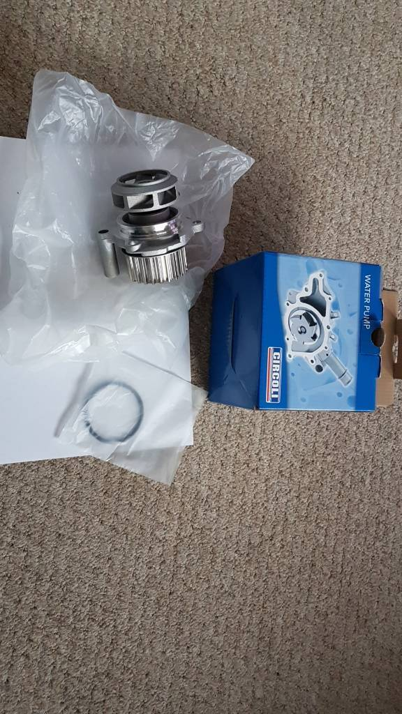 Mk4 golf 1.8t Circoli water pump & seal