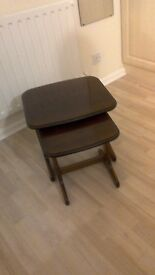 Mahogany side tables for sale