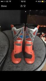 Trials bike boots