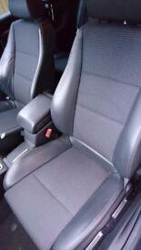 Vauxhall Signum vectra Half leather Recaro style seats