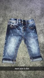 New and worn once boys clothes