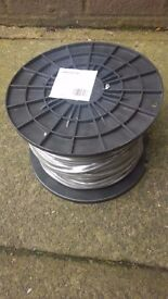 Wellco 6A Flexible Cable (100m Reel) - Brand New - Rrp £41.79 *SALE*