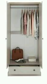 Kensington 1drawer 2door wardrobe