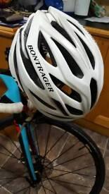 White Bontrager (M) Cycling Helmet