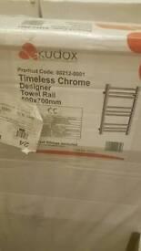 Towel rails new kudox and designer etc