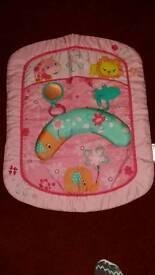 Tummy time mat