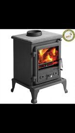 Fire fox 5 Clean Burn II stove, Log Burner, multi fuel