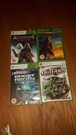 Xbox 360 games x4