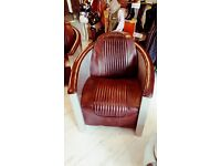 Aviator aluminium leather chair absolute must! Super cool!