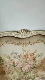 French double bed frame
