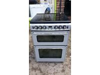 STOVES NEW HOME 600SIDOm 60cm FULL GAS COOKER-SILVER
