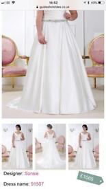 Sonsie 91507 wedding dress size 20