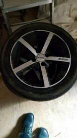 Alloy wheels 15.4x100