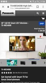 "PANASONIC LED 40"" SMART TV. BRAND NEW IN BOX!!"