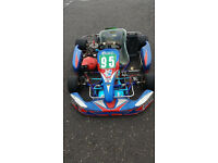 shifter / gearbox go kart, k9b engine, energy chassis, very fast