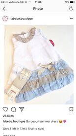 Spanish baby dress 12M