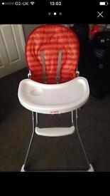 Redkite highchair