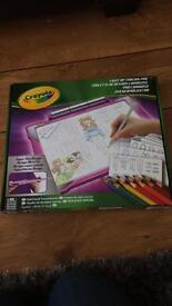 Brand new boxed Crayola Light up Tracing Pad