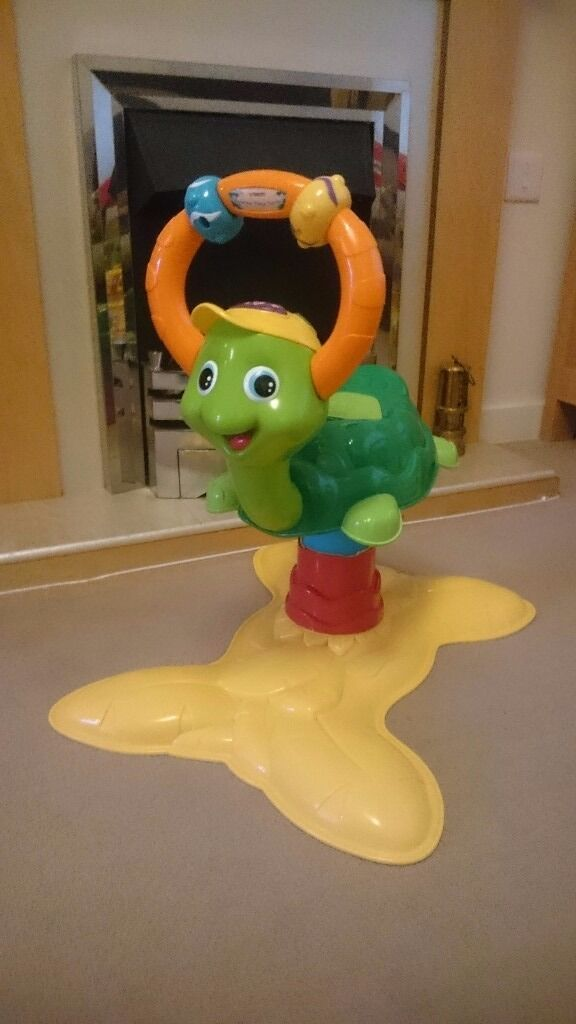 Fisher price bounce and spin frog | in Newport | Gumtree