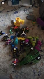 Batman imaginex bundle