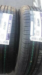 TWO TIRES NOT FOUR         BRAND NEW WITH LABELS NEXEN HIGH PERFORMANCE ' H ' RATED 215 / 65 / 17 ALLSEASON TIRE SET OF2