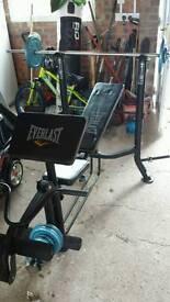 Everlast power training bench EV-330