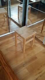 Side table unvarnished