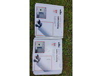 WHITE PVC CABLE TRUNKING 1.5 METRES PER BOX