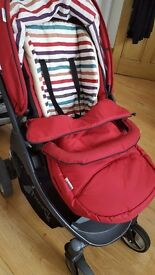 3 in 1 Pram travel system