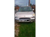 1999 Reg DAIHATSU SIRION 1.0 EL Automatic 5 Door Cheap tax & insurance £400