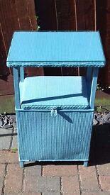 Small hallway / bedside cabinet (Lloyd loom)