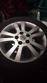 5 stud Vauxhall alloys