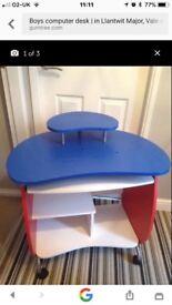 Child's Computer Desk for boy or girl.