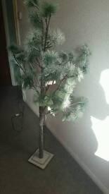 Xmas light tree