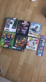 Boxed Amiga/Atari games